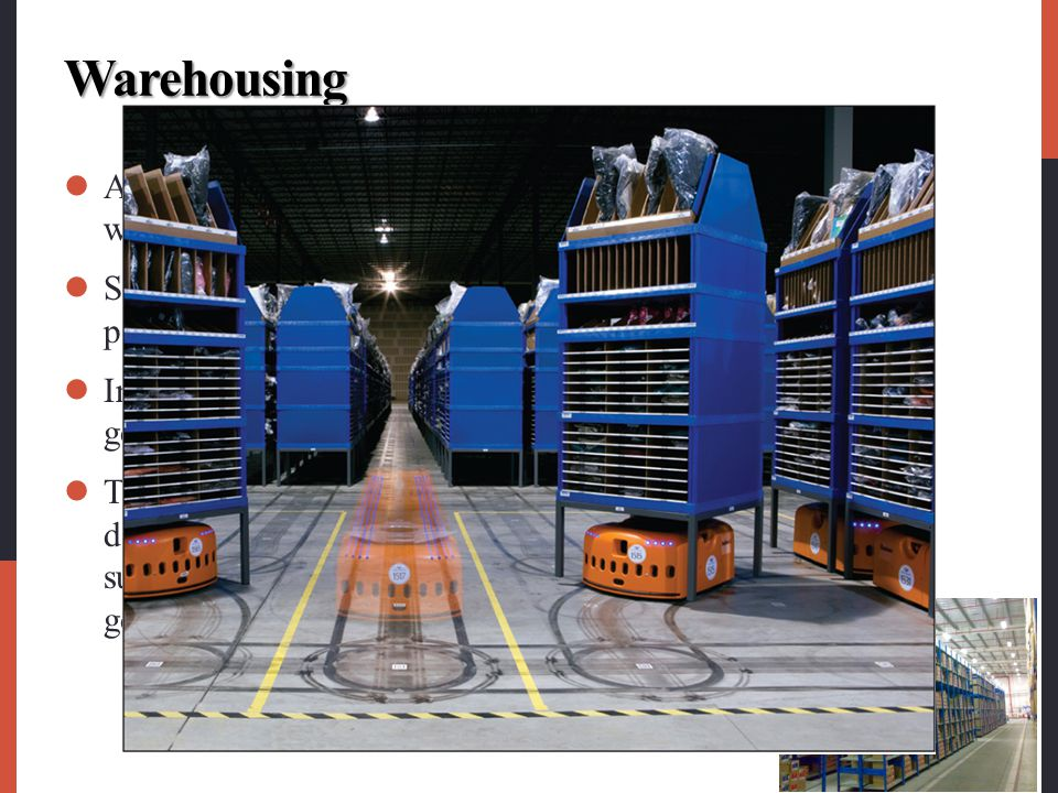 Warehousing A company must decide on how many and what types of warehouses it needs and where they will be located.