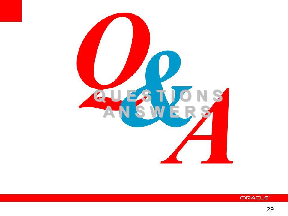 29 A Q & Q U E S T I O N S A N S W E R S