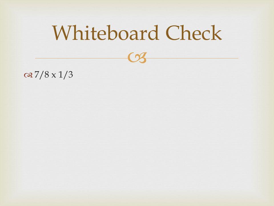   7/8 x 1/3 Whiteboard Check