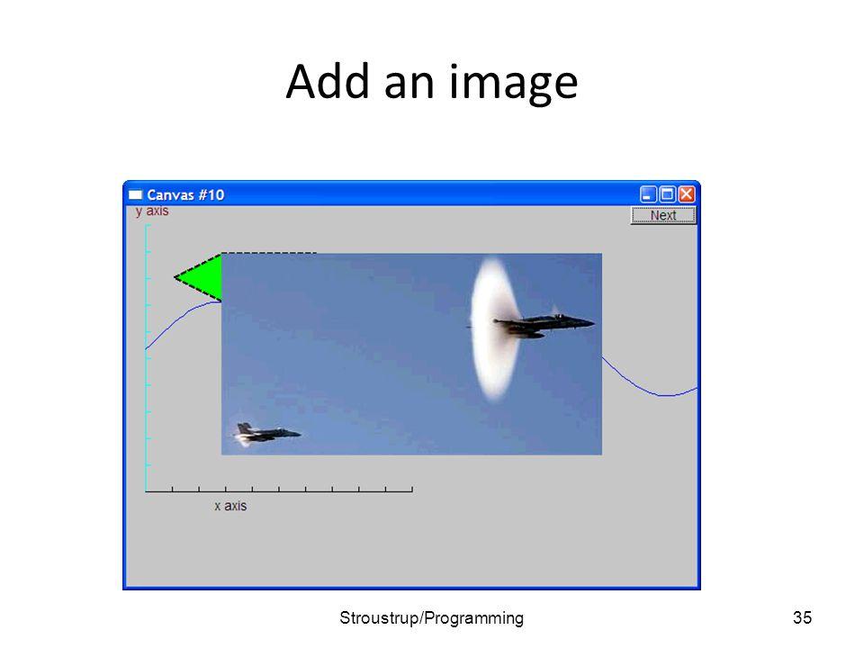 Add an image 35Stroustrup/Programming