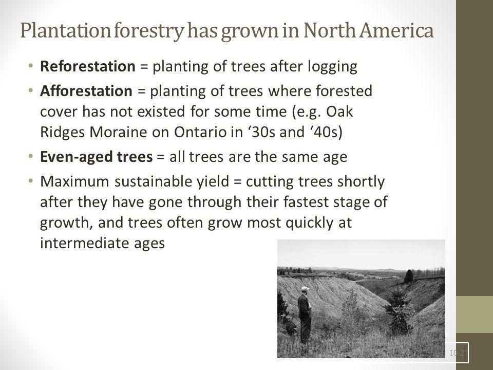 Land Conversion and Deforestation 10-28