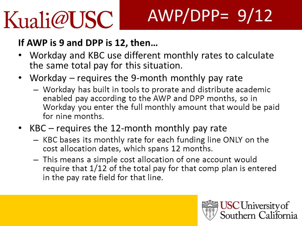 Simplified example For this example we are using the faculty member receiving $121,521 annually for core pay.