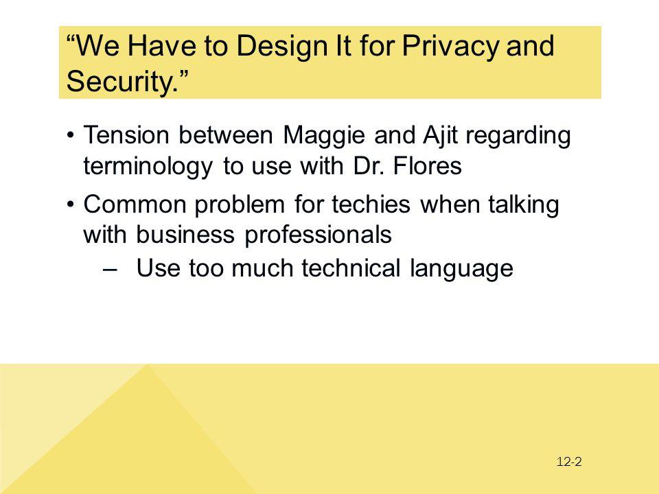 12-3 PRIDE Design for Security