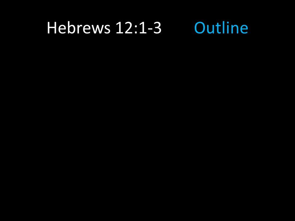 Hebrews 12:1-3Outline