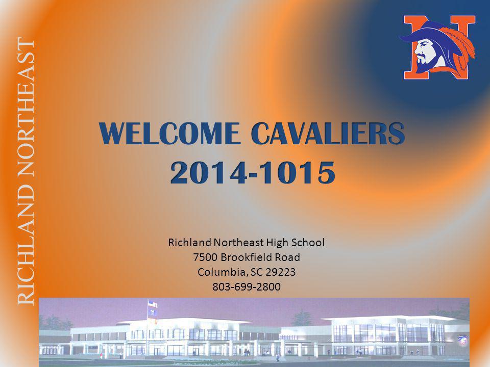 RICHLAND NORTHEAST Richland Northeast High School 7500 Brookfield Road Columbia, SC 29223 803-699-2800