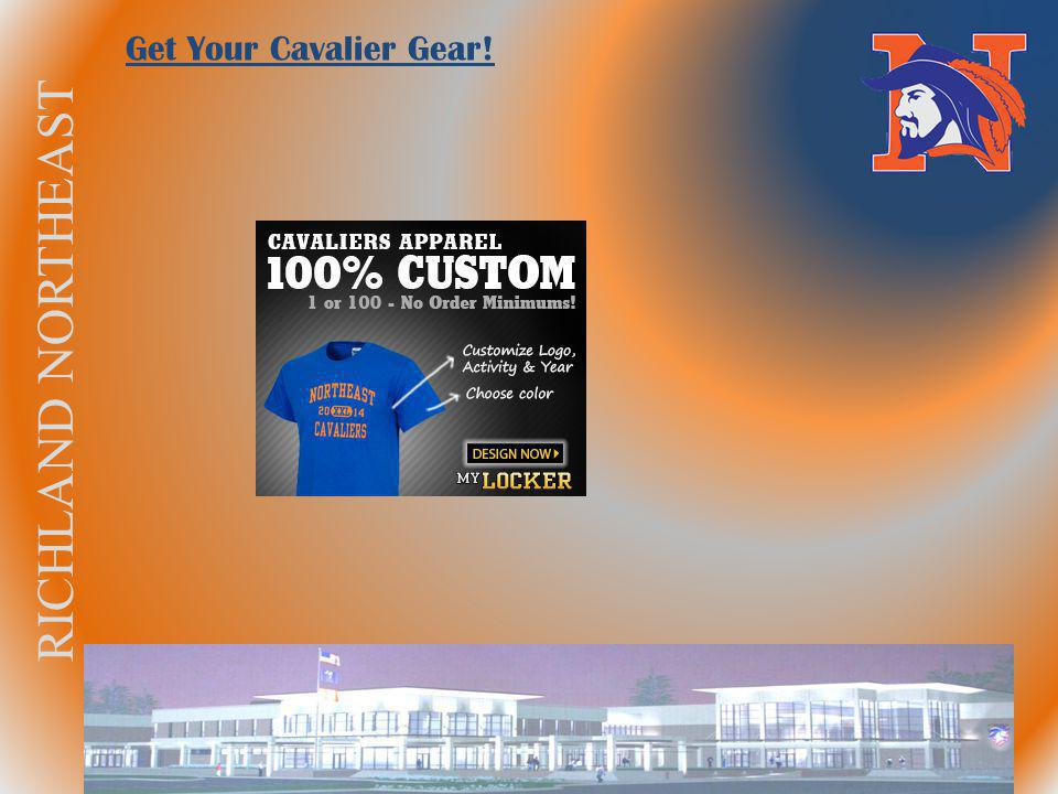 RICHLAND NORTHEAST Get Your Cavalier Gear!