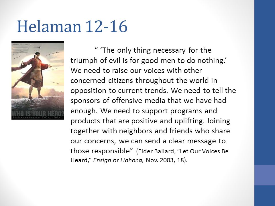 Helaman 12-16 How did Samuel know.Helaman 15:7-8, 17 What are the signs of Jesus' birth in people.
