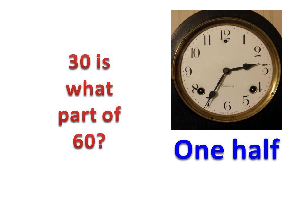 One half