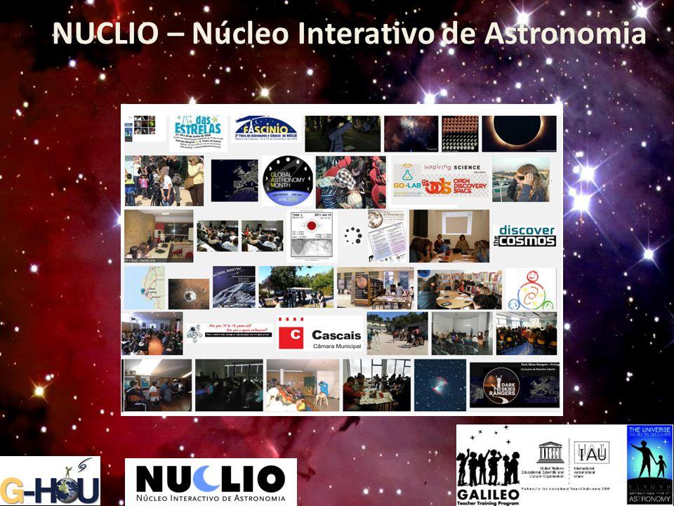NUCLIO – Núcleo Interativo de Astronomia NUCLIO – Núcleo Interativo de Astronomia