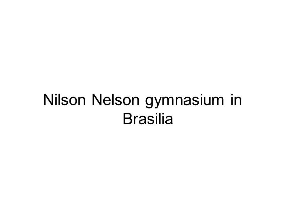 Nilson Nelson gymnasium in Brasilia