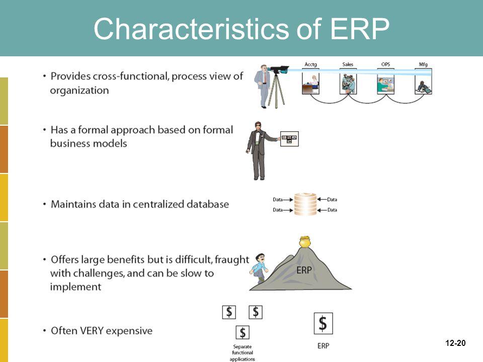 12-20 Characteristics of ERP