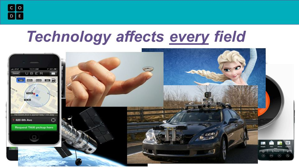 Technology affects every field