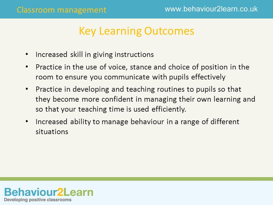 Classroom management What do you do.