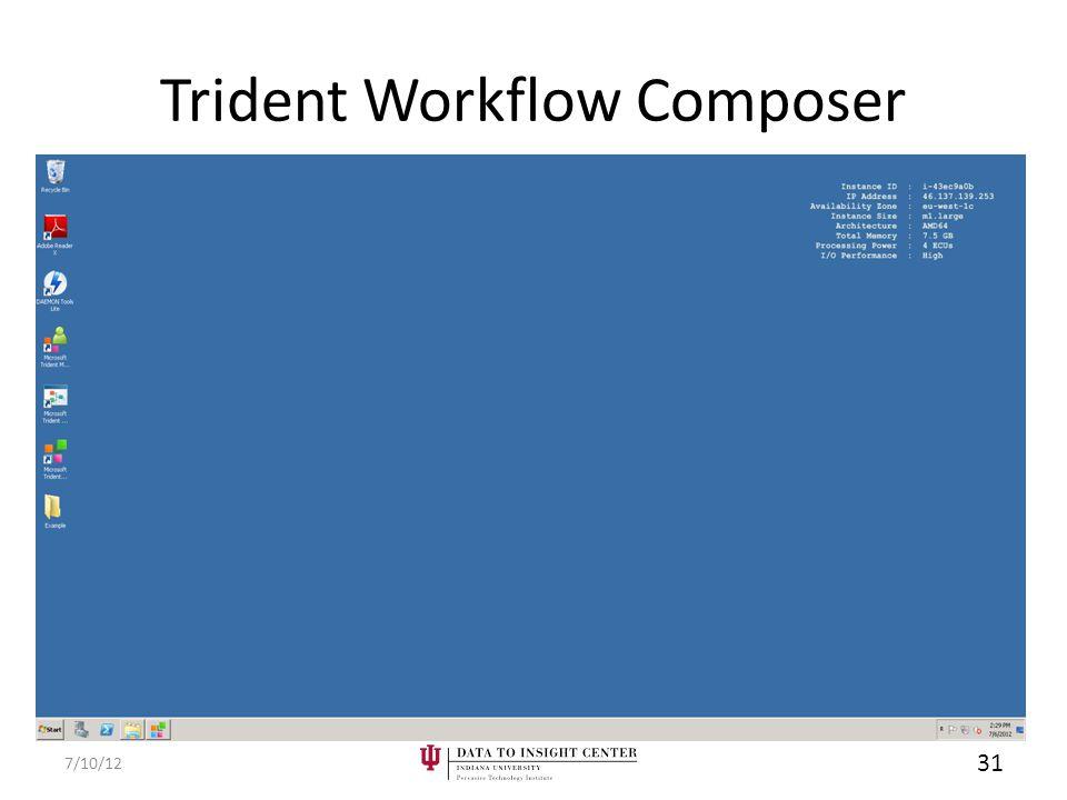 Trident Workflow Composer 7/10/12 31