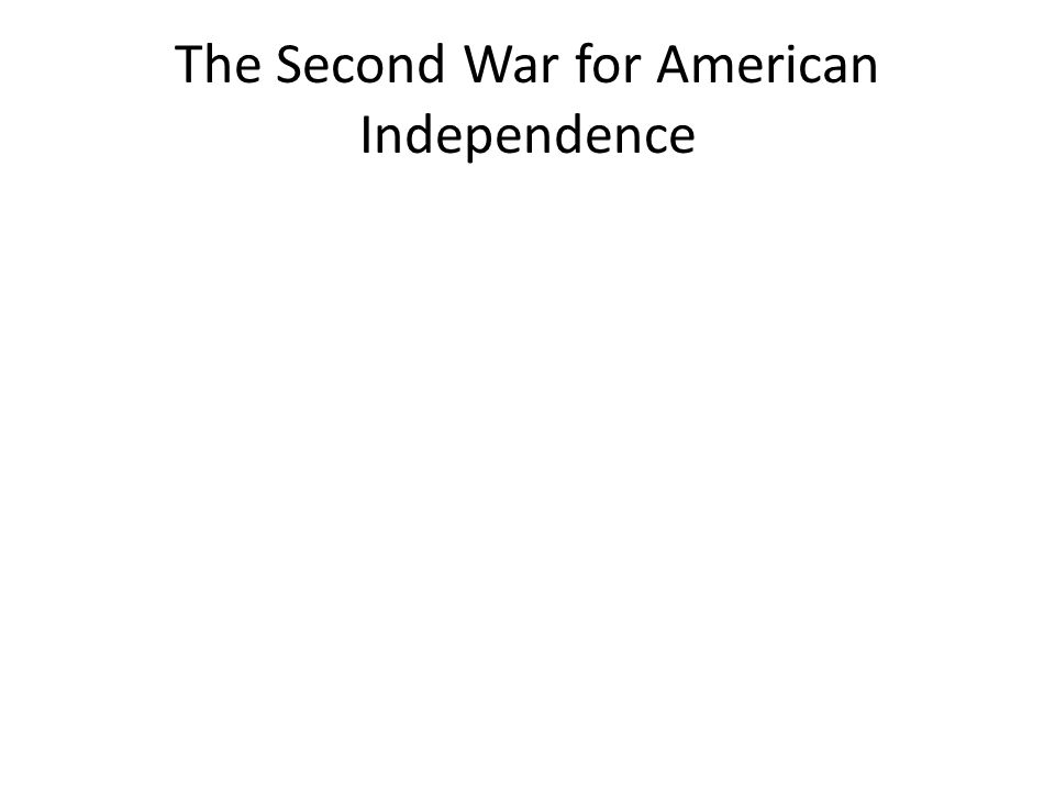 Results of the War U.S.