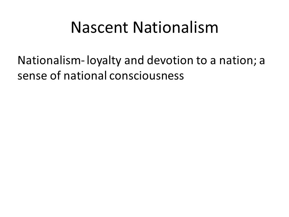 In what ways do we see evidence of American nationalism today?
