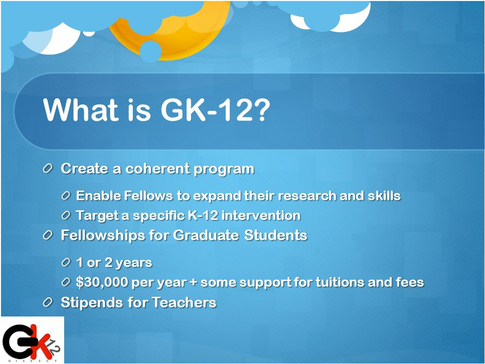 What is GK-12.