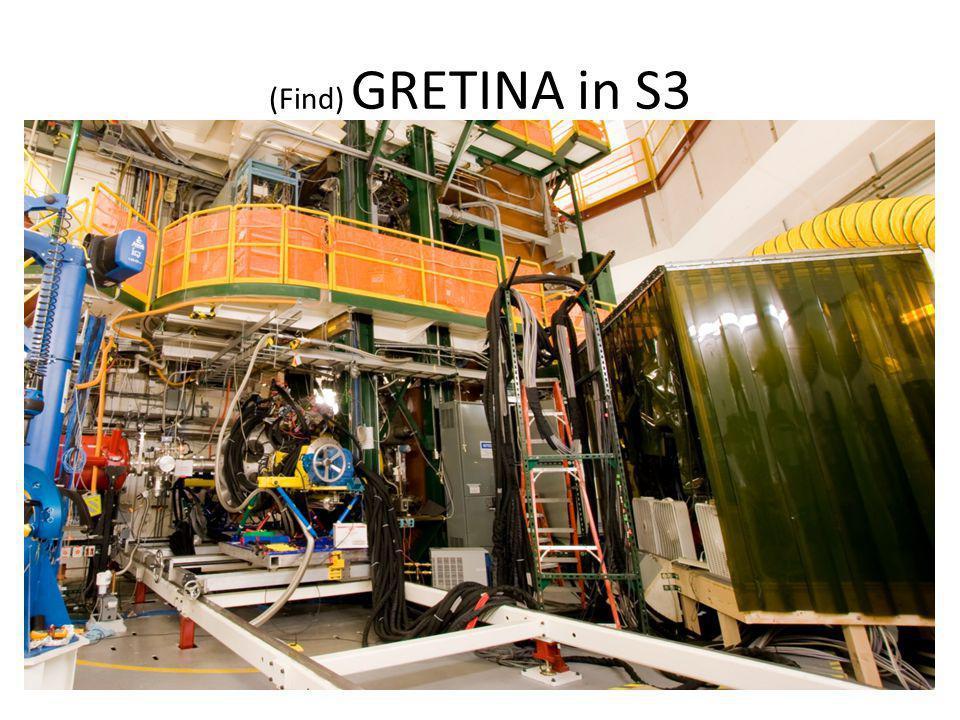 (Find) GRETINA in S3
