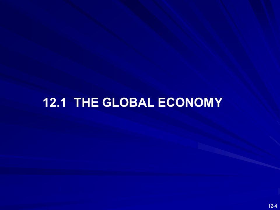 12-4 12.1 THE GLOBAL ECONOMY