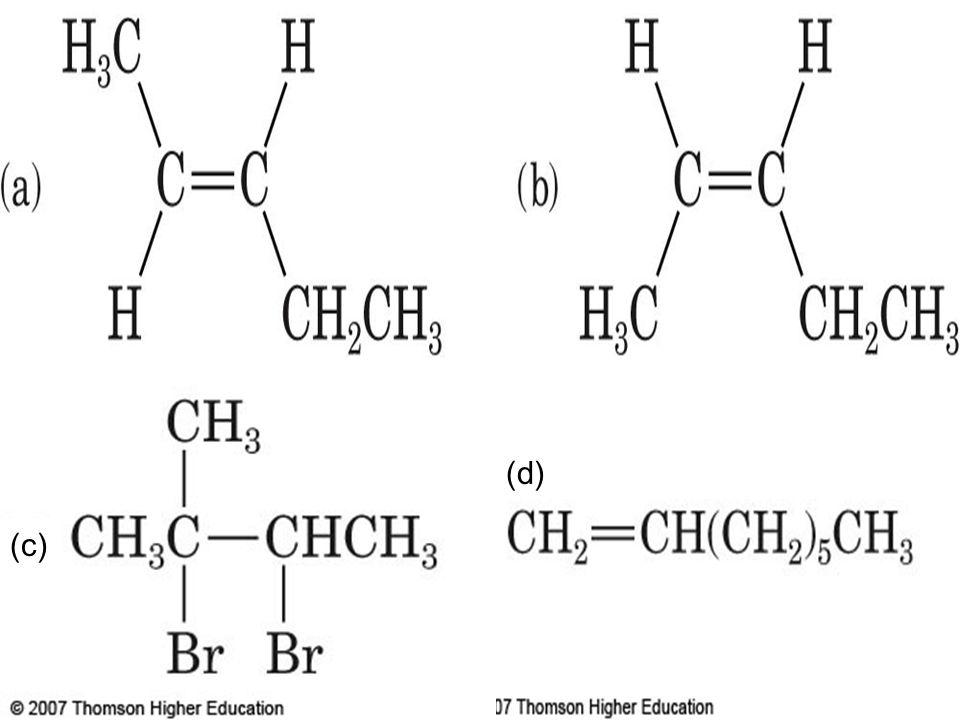 Alkene Reactions, cont.