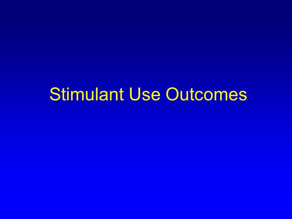 Stimulant Use Outcomes