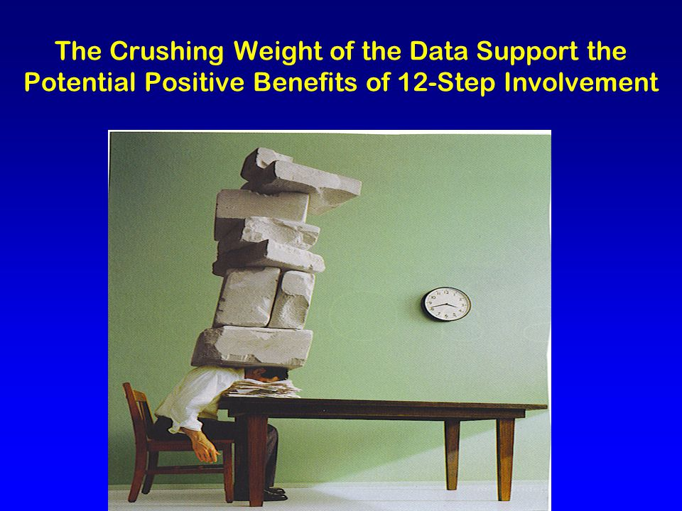 The Crushing Weight of the Data Support the Potential Positive Benefits of 12-Step Involvement