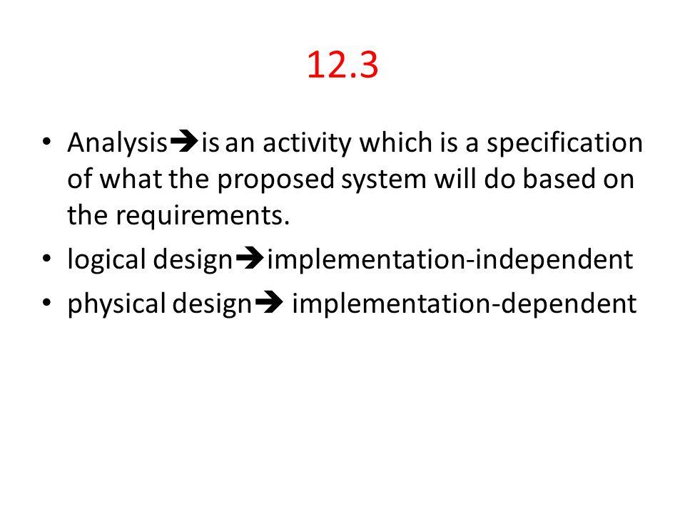 12.7 List quality criteria for good design.