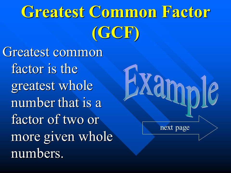 Common Multiples Multiples that are common to two or more numbers are said to be common multiples.