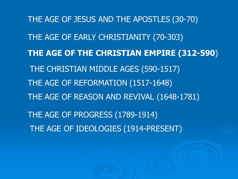 MONASTICISIM THE AGE OF THE CHRISTIAN EMPIRE (312-590)