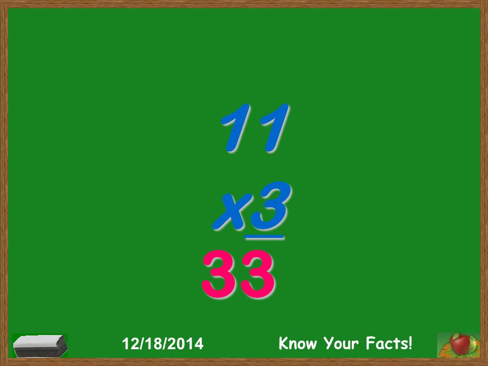 11 x5 55 12/18/2014 Know Your Facts!