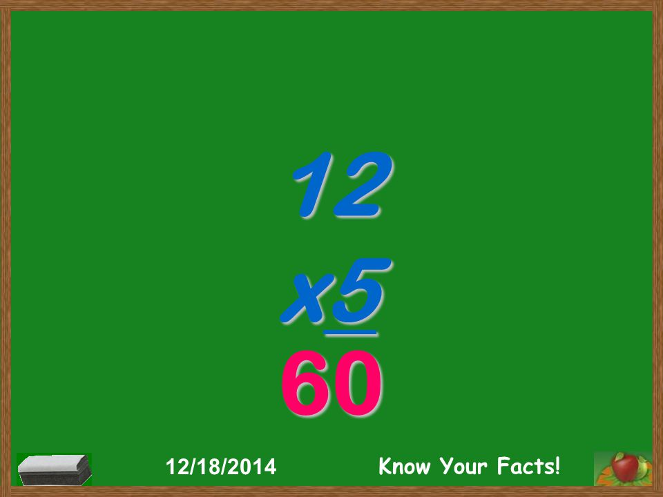 12 x5 60 12/18/2014 Know Your Facts!