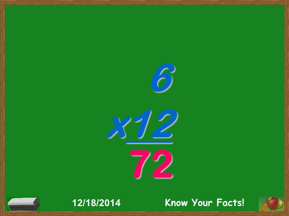 6 x12 72 12/18/2014 Know Your Facts!