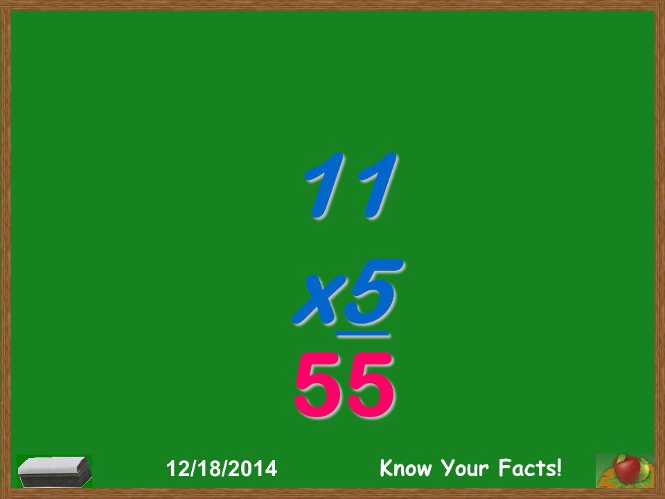 11 x2 22 12/18/2014 Know Your Facts!