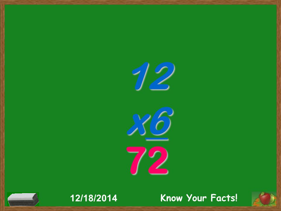 12 x6 72 12/18/2014 Know Your Facts!