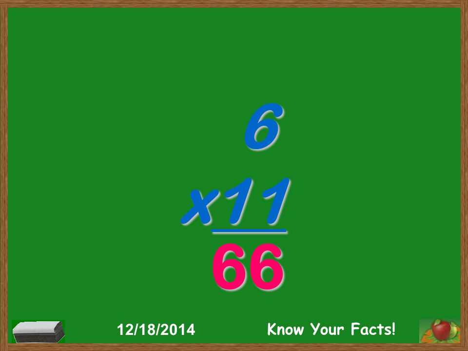 11 x1 11 12/18/2014 Know Your Facts!
