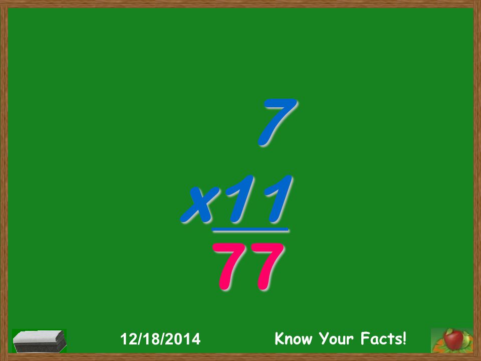 7 x11 77 12/18/2014 Know Your Facts!
