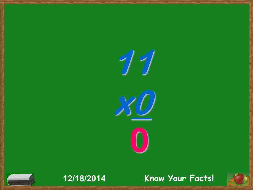 11 x0 0 12/18/2014 Know Your Facts!