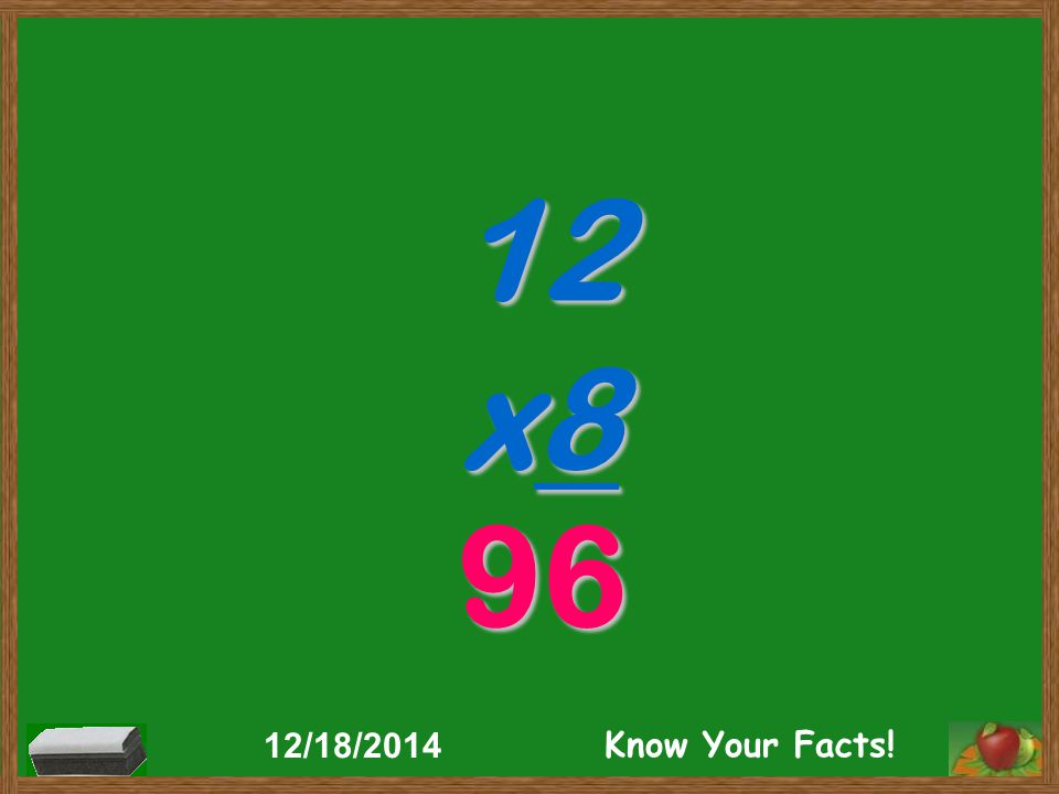 7 x12 84 12/18/2014 Know Your Facts!