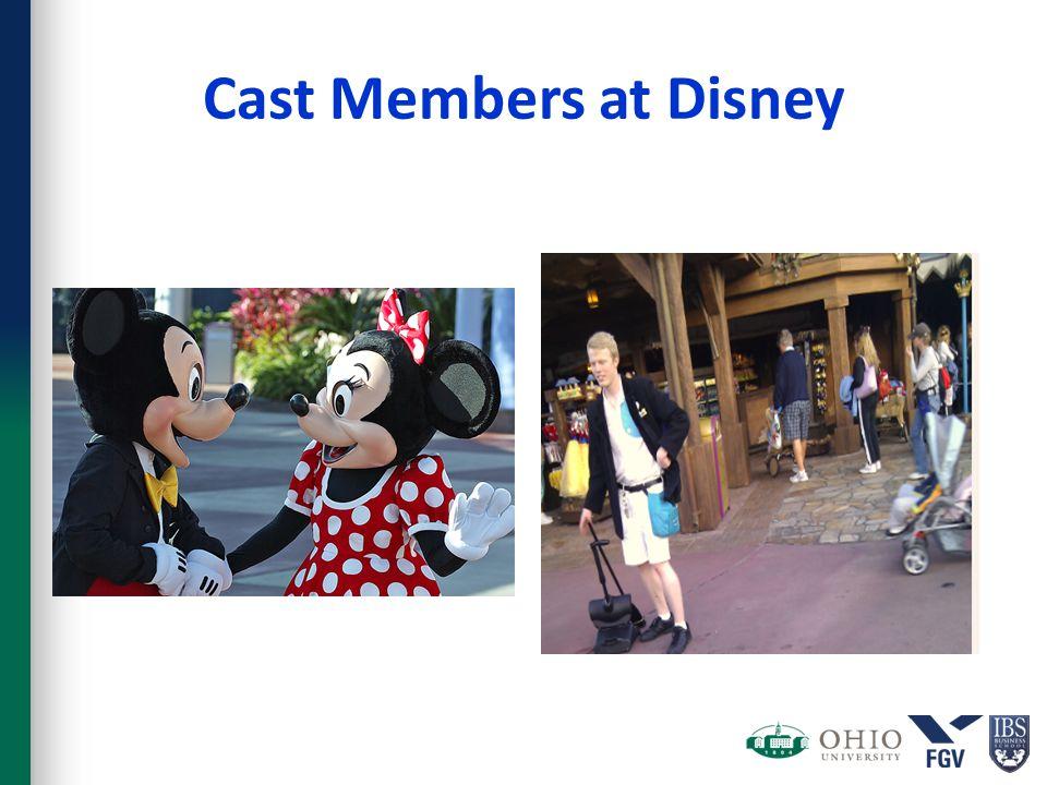 Cast Members at Disney