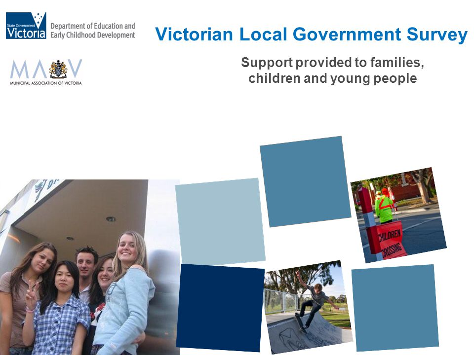 Support provided to families, children and young people Victorian Local Government Survey