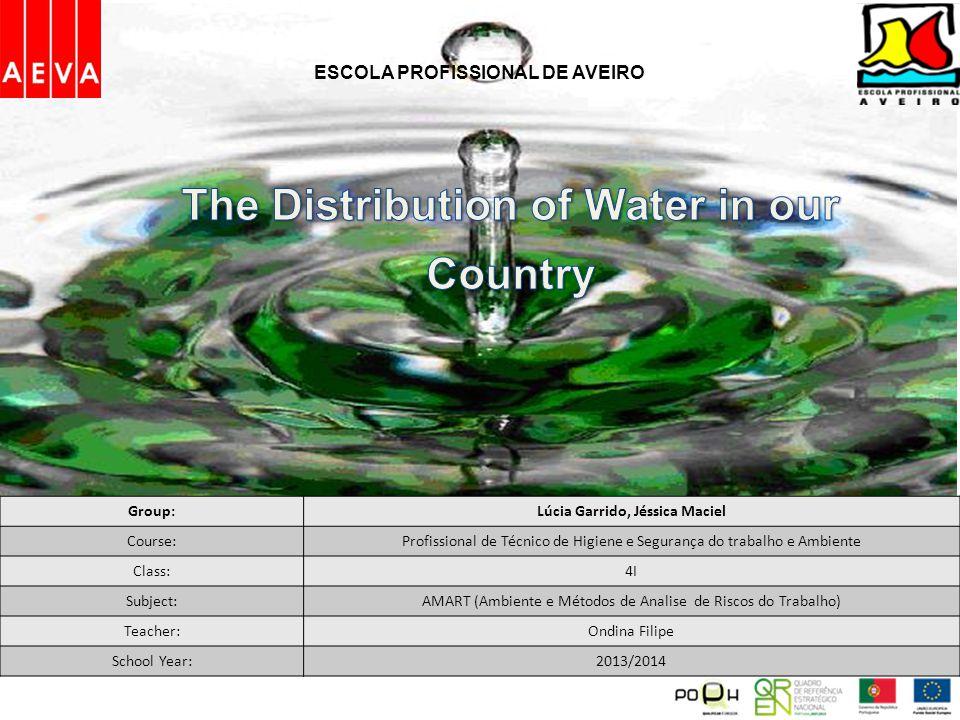 Group:Lúcia Garrido, Jéssica Maciel Course:Profissional de Técnico de Higiene e Segurança do trabalho e Ambiente Class:4I Subject:AMART (Ambiente e Mé