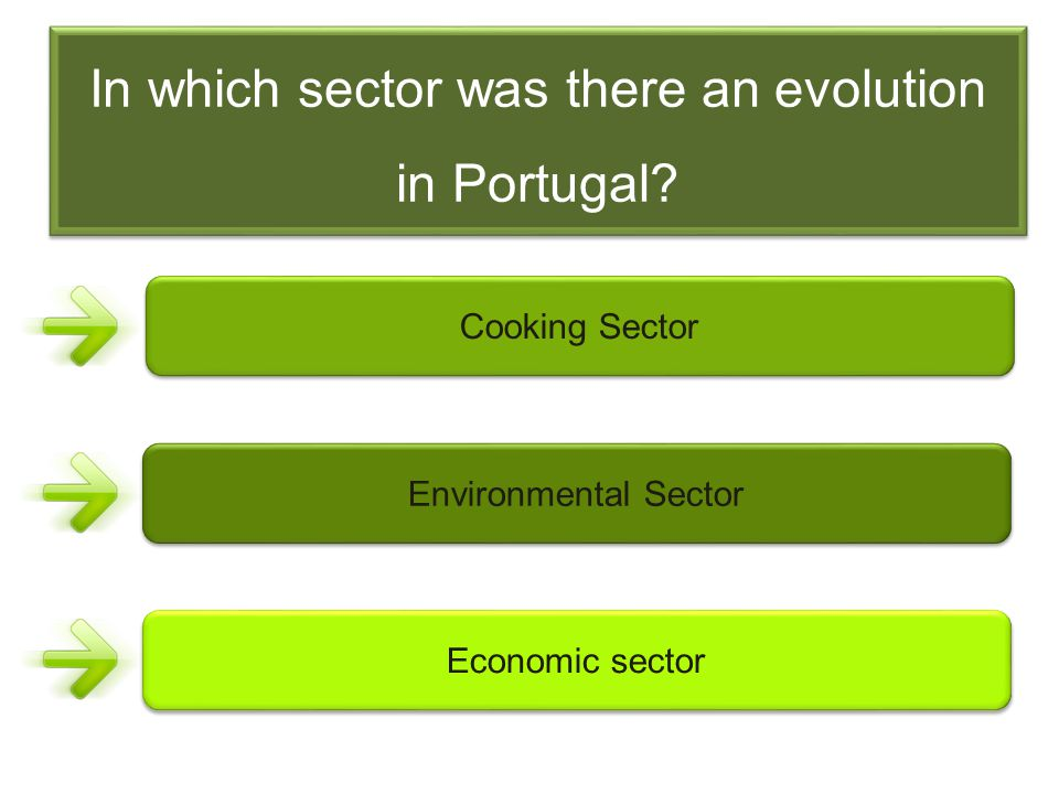 In which sector was there an evolution in Portugal.