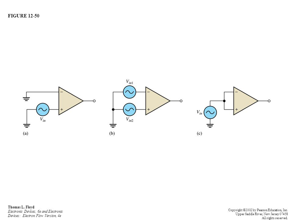FIGURE 12-50 Thomas L. Floyd Electronic Devices, 6e and Electronic Devices: Electron Flow Version, 4e Copyright ©2002 by Pearson Education, Inc. Upper