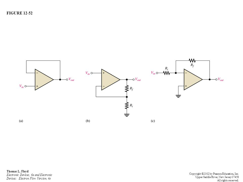 FIGURE 12-52 Thomas L. Floyd Electronic Devices, 6e and Electronic Devices: Electron Flow Version, 4e Copyright ©2002 by Pearson Education, Inc. Upper