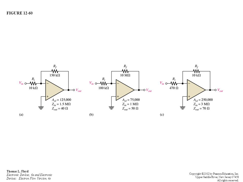 FIGURE 12-60 Thomas L. Floyd Electronic Devices, 6e and Electronic Devices: Electron Flow Version, 4e Copyright ©2002 by Pearson Education, Inc. Upper