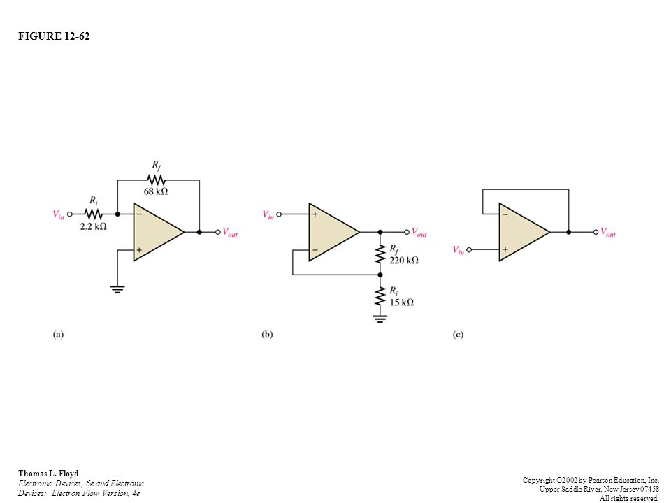 FIGURE 12-62 Thomas L. Floyd Electronic Devices, 6e and Electronic Devices: Electron Flow Version, 4e Copyright ©2002 by Pearson Education, Inc. Upper