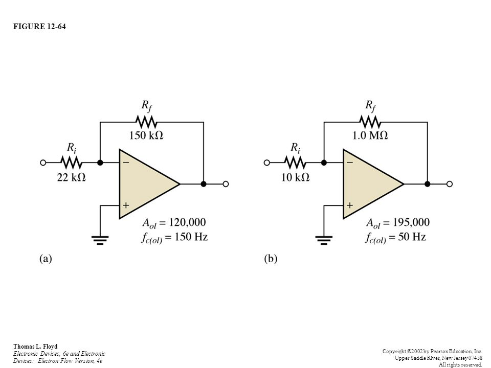 FIGURE 12-64 Thomas L. Floyd Electronic Devices, 6e and Electronic Devices: Electron Flow Version, 4e Copyright ©2002 by Pearson Education, Inc. Upper