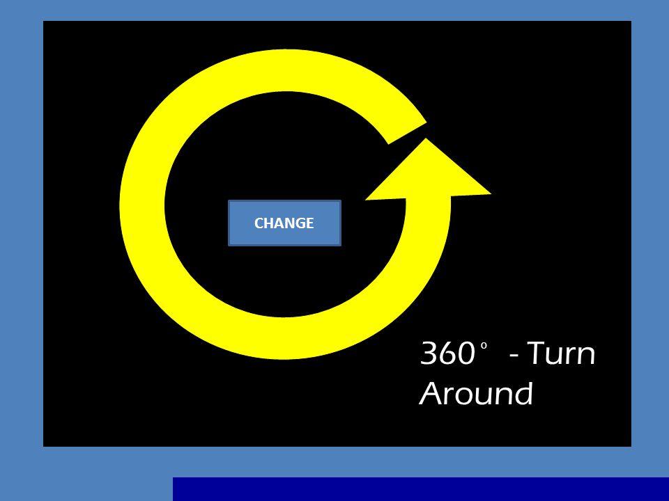 360 - Turn Around o CHANGE