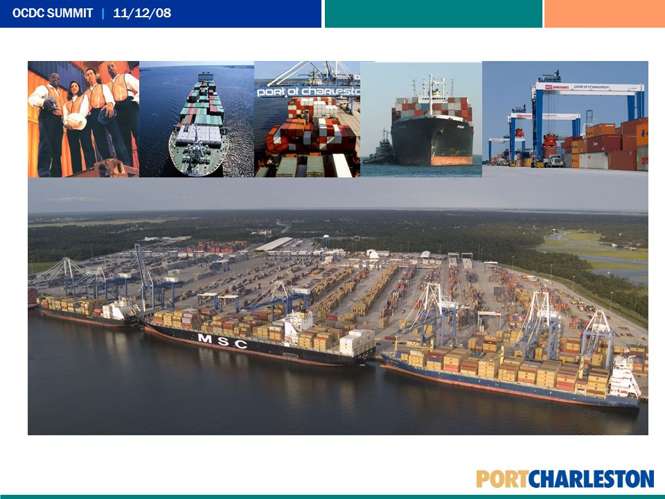 New Port Capacity is Vital Bridge, Deepening Improvements to Existing Terminals Navy Base Jasper