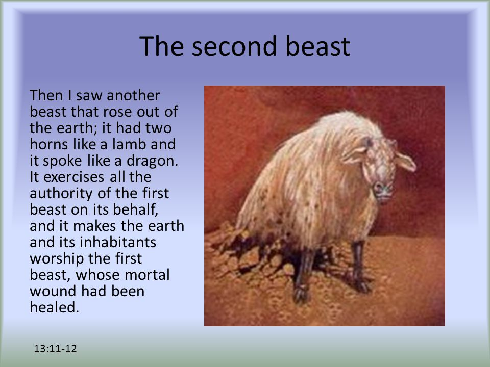 The second beast It performs great signs, even making fire come down from heaven to earth in the sight of all; 13:13